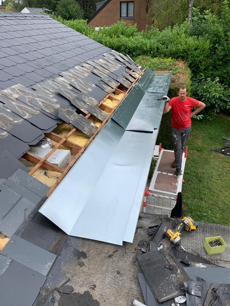 refection de toiture et chenaux