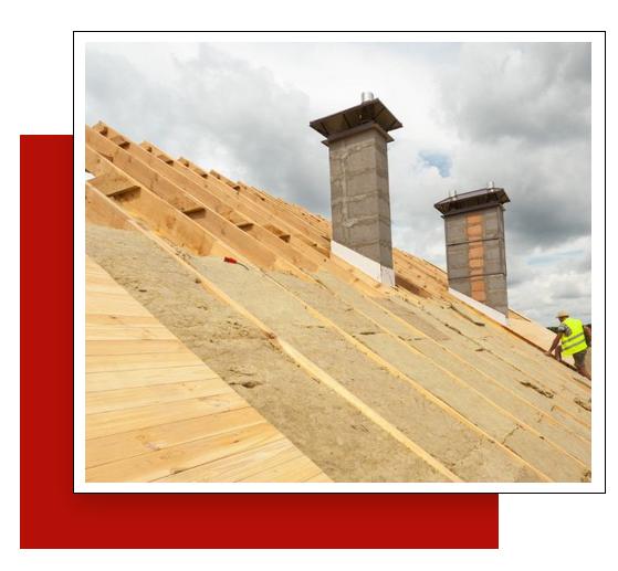 rénovation complète d'une toiture par les couvreurs Les Compagnons
