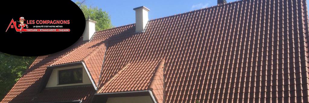Une toiture entretenue par les couvreurs Les Compagnons, c'est de la sérénité gagnée !